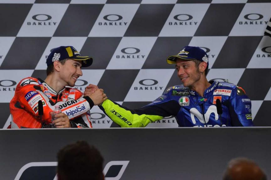 Valentino Rossi, Jorge Lorenzo, Gran Premio d'Italia Oakley