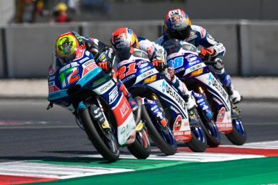 Moto3™: el bocadillo italiano de 8 puntos
