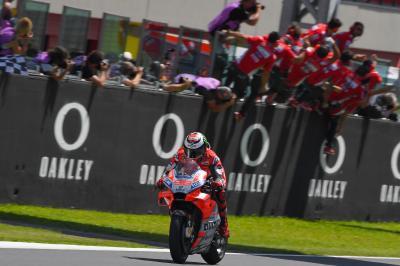 Lorenzo ha fatto la storia Ducati, e non solo…