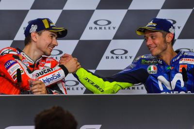 Rossi and Lorenzo: the reconciliation