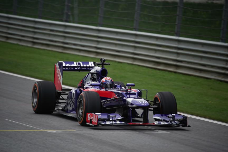 Marc Marquez in a F1