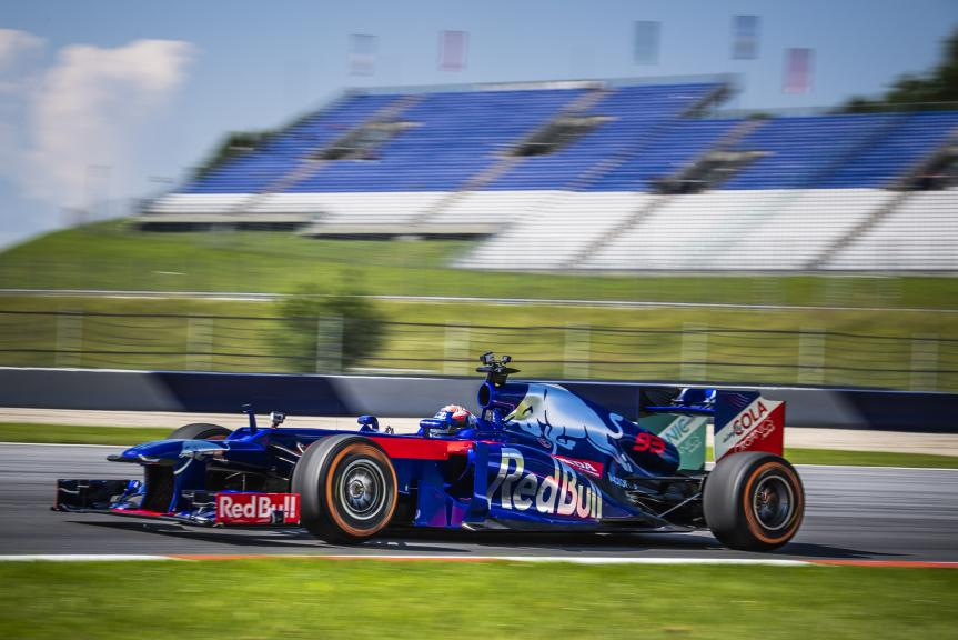 Marc Marquez in a F1 @Philip Platzer