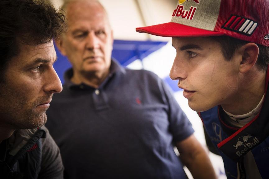 Marc Marquez in a F1 @Markus Berger