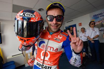Petrucci con il Ducati Team, ora è ufficiale