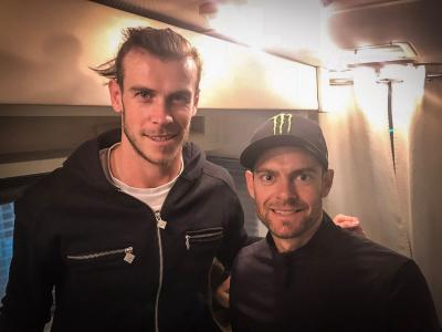 Is @calcrutchlow lacing up his boots, or will @GarethBale11 be pulling on a helmet?