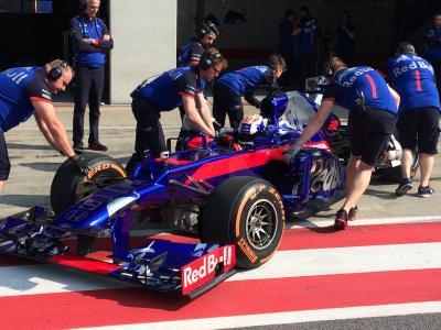 Dani ist dran! Pedrosa im Formel-1-Toro-Rosso