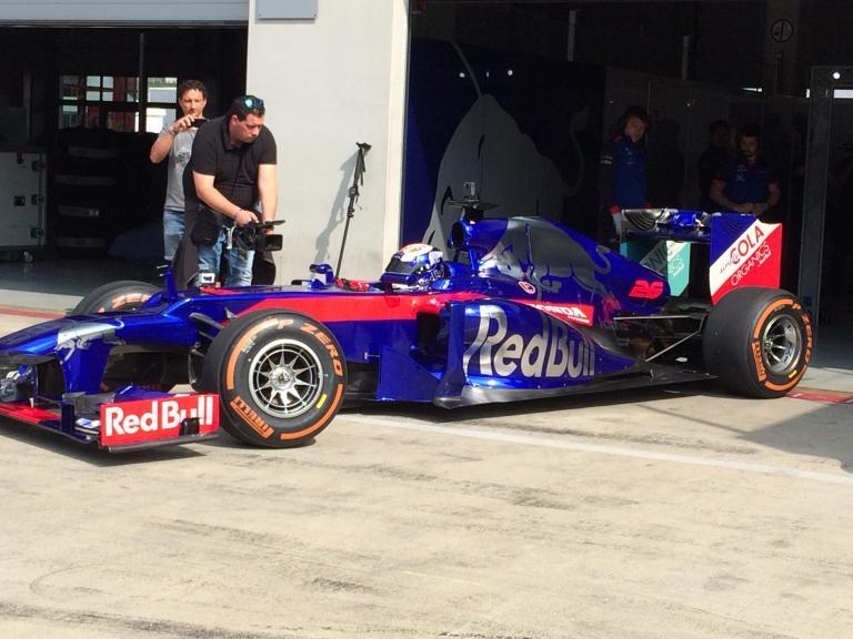 Dani Pedrosa in a F1