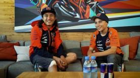 Get to know twin brothers, Can and Deniz Oncu, who compete in the FIM CEV Repsol and Red Bull Rookies MotoGP™ Cup.