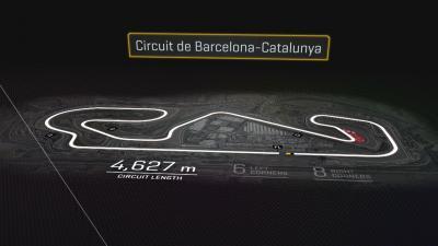 ¿Dónde se puede adelantar en el Circuit de...