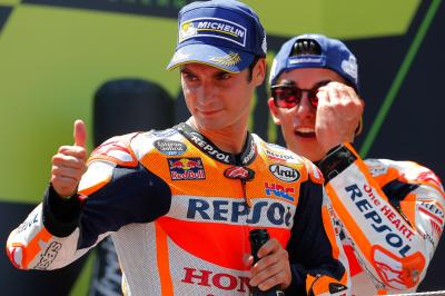 The Catalan GP according to Márquez and Pedrosa