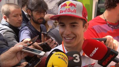 Marquez tells us what he learned from Pedrosa