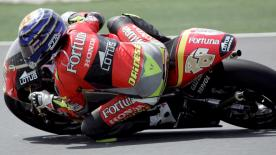 Relive Jorge Lorenzo's rookie 250cc season in 2005 when he took podiums aboard a Honda machine