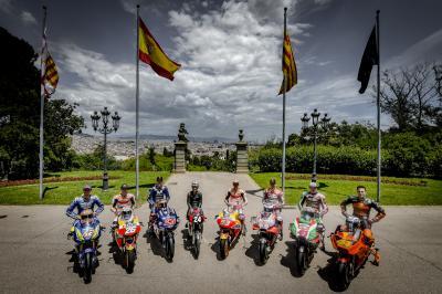 Historia y presente de las carreras, se citaron en Montjuïc