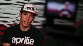 Aleix Espargaro talks about his expectations of The Maniac joining him at Aprilia Racing Team Gresini for the next two seasons