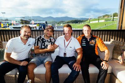 Martín pilotará en Moto2™ con la KTM de Ajo Motorsport