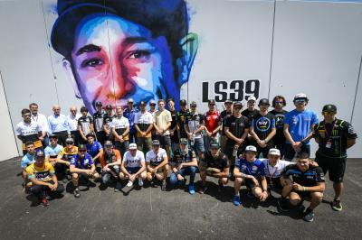 Quand l'art de rue rend hommage à Luis Salom en Catalogne