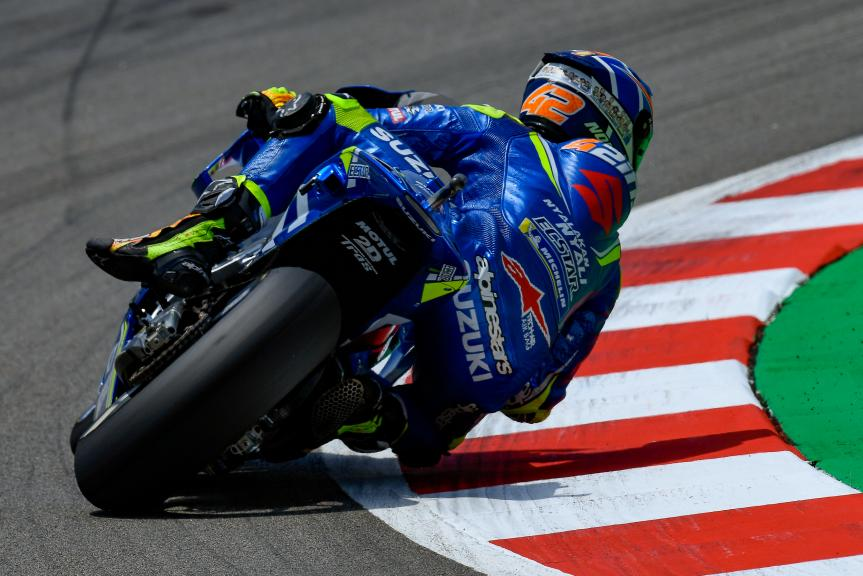 Alex Rins, Team Suzuki Ecstar, Gran Premi Monster Energy de Catalunya