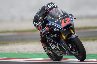Moto2™ : Bagnaia domine la première journée à Montmeló