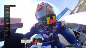 Relive the thrilling last 3 minutes MotoGP™ qualifying at the Circuit de Barcelona-Catalunya