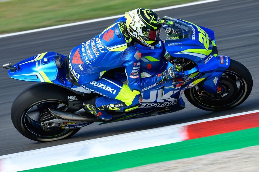 Andrea Iannone, Team Suzuki Ecstar, Gran Premi Monster Energy de Catalunya