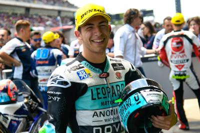 Beast in Barcelona: Bastianini blasts to Moto3™ pole