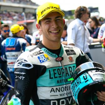 """Beast"" in Barcelona: Bastianini stürmt zur Moto3™-Pole"