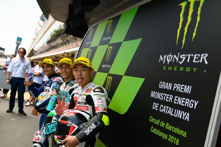 Enea Bastianini, Jorge Martin, Tatsuki Suzuki, Gran Premi Monster Energy de Catalunya