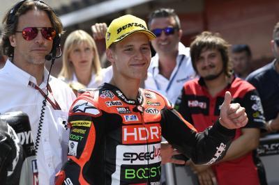 GP de Catalogne: Première pole de Quartararo en Moto2™!
