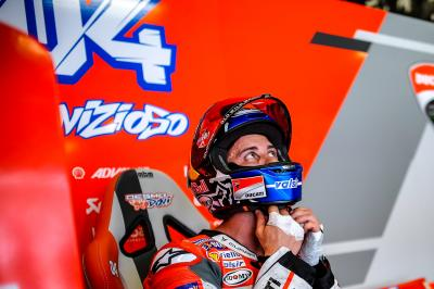 Dovizioso earns first front row start of 2018