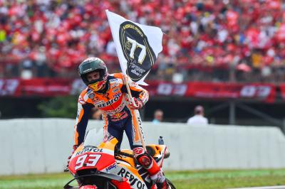 Who is Marquez most worried about in the Championship?