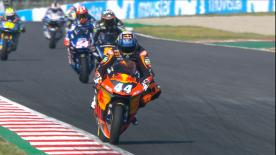 The Warm Up session for Moto2? in its entirety for the Catalan GP