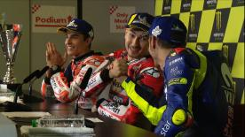 With 14 world titles between them, both will have ridden with Yamaha, Ducati and Honda by 2019... but they explain why they can't be friends