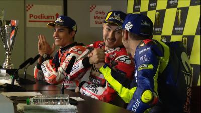 Rossi und Lorenzo - so viel gemeinsam
