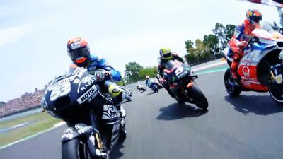 Catalan GP: Multi-OnBoard-Start