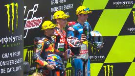 The French rider took his first victory, head and shoulders ahead of Oliveira and Marquez