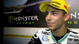 Taking his first victory since Motegi in 2016, the Leopard Racing rider waiting for the opportune moment in the Catalan GP