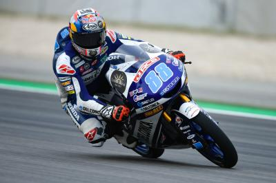 Martin quickest in Warm Up