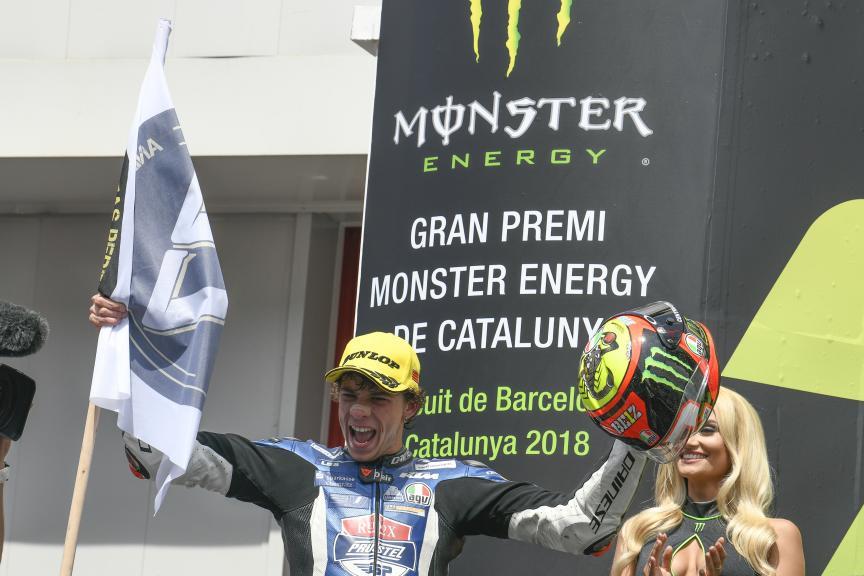 Marco Bezzecchi, Pruestelgp, Gran Premi Monster Energy de Catalunya