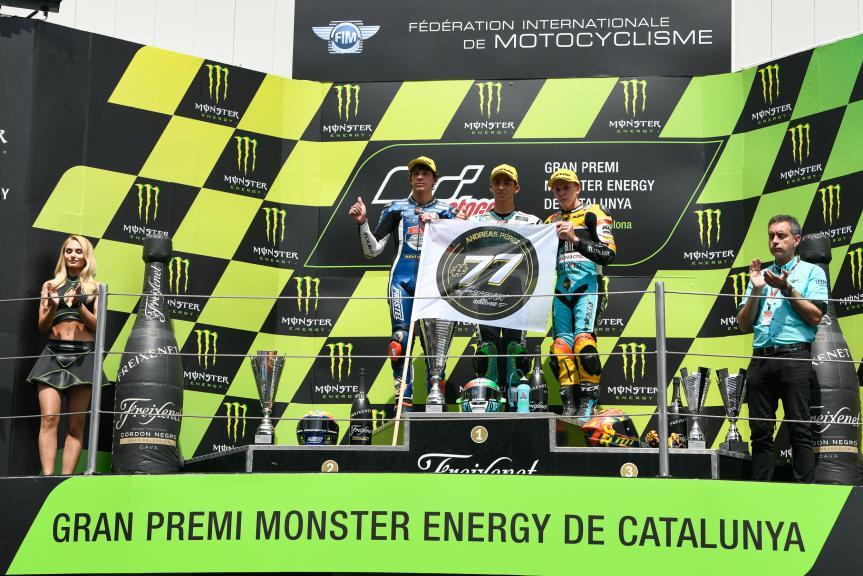 Enea Bastianini, Marco Bezzecchi, Gabriel Rodrigo, Gran Premi Monster Energy de Catalunya