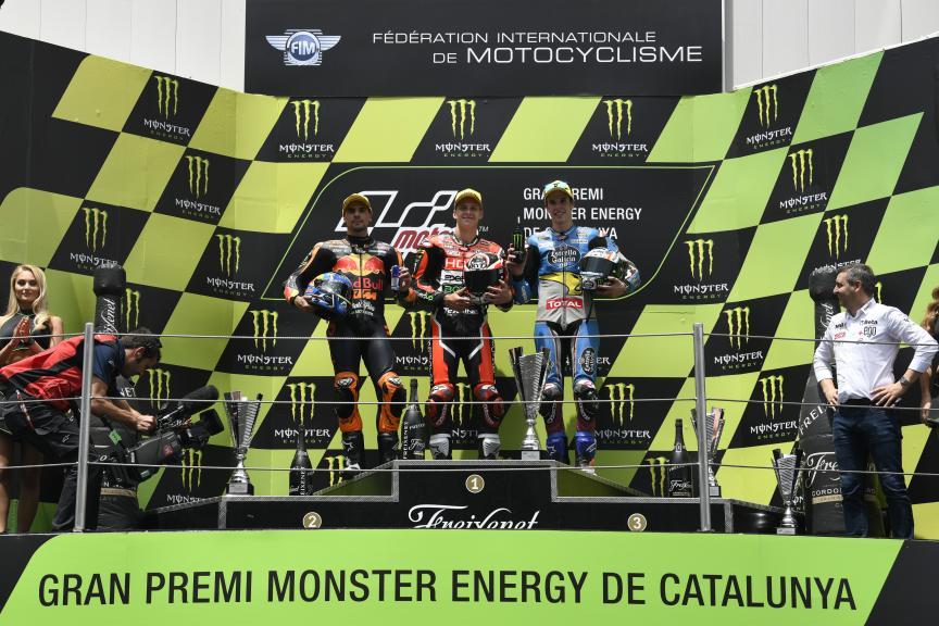 Fabio Quartararo, Miguel Oliveira, Alex Marquez, Gran Premi Monster Energy de Catalunya