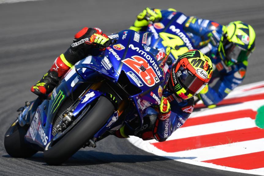 Maverick Viñales, Valentino Rossi, Movistar Yamaha MotoGP, Gran Premi Monster Energy de Catalunya