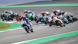 The full race session of the Moto3™ World Championship at the Circuit de Barcelona-Catalunya.