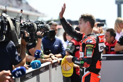 Quartararo on top in Moto2™ Warm Up