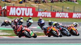 The full race session of the Moto2? World Championship at the Circuit de Barcelona-Catalunya.