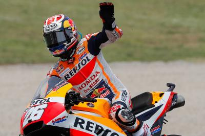 Best finish yet: Pedrosa fights back to fifth
