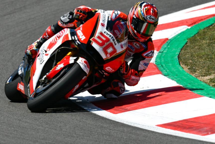 Takaaki Nakagami, LCR Honda Idemitsu, Catalunya MotoGP Official Test