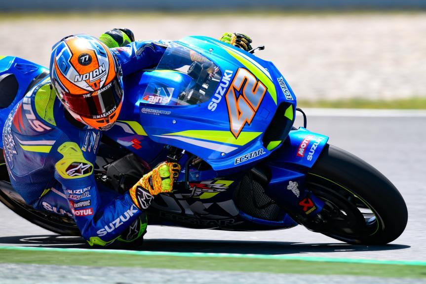Alex Rins, Team Suzuki Ecstar, Catalunya MotoGP Official Test