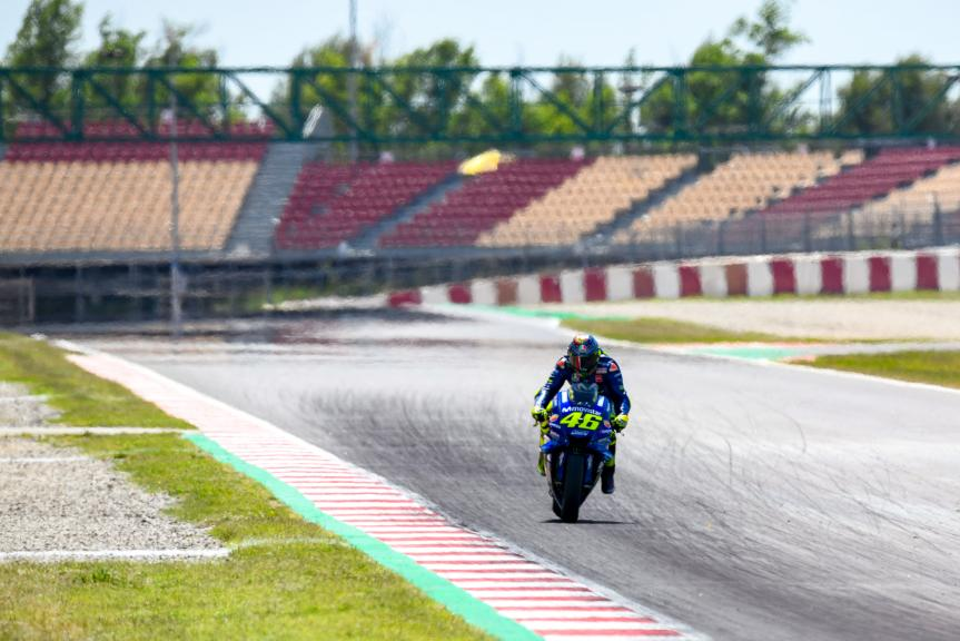 Valentino Rossi, Movistar Yamaha MotoGP, Catalunya MotoGP Official Test