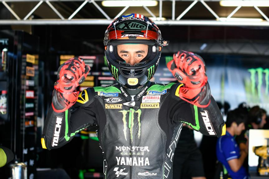 Hafizh Syahrin, Monster Yamaha Tech 3, Catalunya MotoGP Official Test