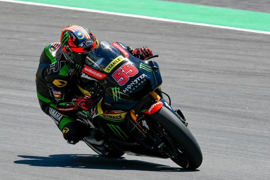 Hafizh Syahrin, Monster Yamaha Tech 3, Catalunya MotoGP Official Test